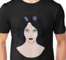 Girl with Black Hair Unisex T-Shirt