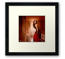 Drink Me Framed Print