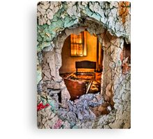 Wake Up And Smell the Misery Canvas Print