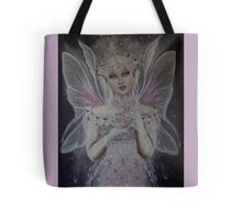 Gossamer wings white pink fairy faerie fantasy  Tote Bag