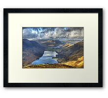 A Lake District Perspective Framed Print