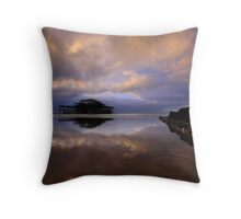 The Tides Out At West Pier! Throw Pillow