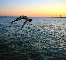 Jumping into the Marmara by Guy Carpenter