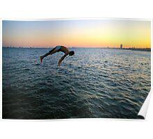 Jumping into the Marmara Poster