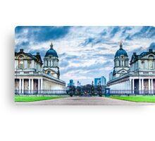 Greenwich Maritime Twins Canvas Print