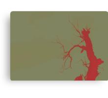 02-21-2011 Tree of Blood Canvas Print