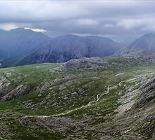 Panorama from the Lord's Rake by Guy Carpenter