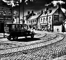 Town street, Beamish by Guy Carpenter