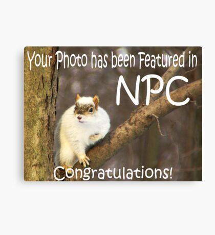 Feature Banner - NPC Canvas Print