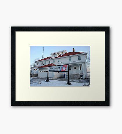 Coast Guard Station Framed Print