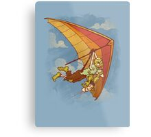 Death From Above Metal Print