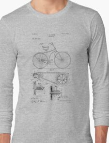 Bicycle Patent  Long Sleeve T-Shirt