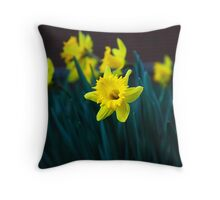 Host Of Gold II Throw Pillow