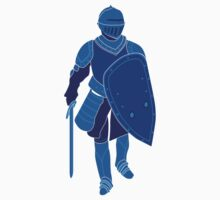Medieval Knight (Blue) by satorenalin