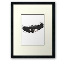 Brush Art - Mugetsu  Framed Print