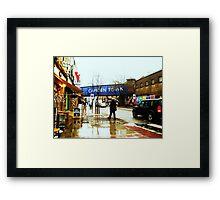 Camden Town Framed Print