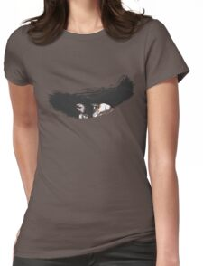 Brush Art - Mugetsu  Womens Fitted T-Shirt
