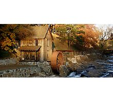 Sixes Road Grist Mill Photographic Print