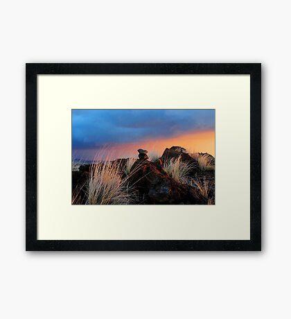 Waikoloa Dusk Framed Print