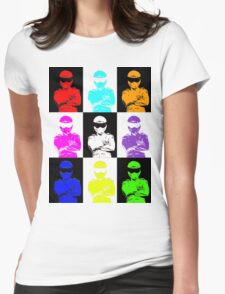 The Stig Farm from Top Gear Womens Fitted T-Shirt