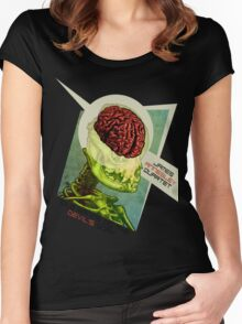 James Annesley- Idle Hands Do The Devil's Work Women's Fitted Scoop T-Shirt