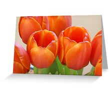 Loving Orange Greeting Card