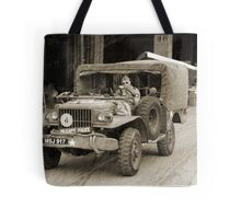 here come the cops!!!!! Tote Bag