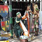 The Harpist ... by Danceintherain