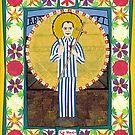 Icon of St. Maximilian Kolbe by David Raber