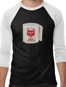 War Roll | Poop Art Men's Baseball ¾ T-Shirt