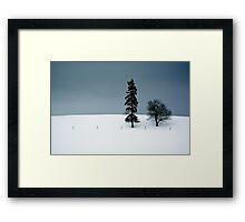 On the Ridge Framed Print