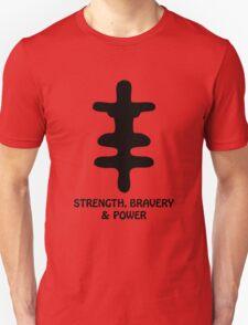 T-Shirt Adinkra Symbol: Bravery T-Shirt