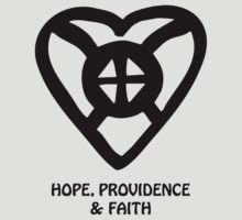 T-Shirt Adinkra Symbol: Providence by Keith Richardson
