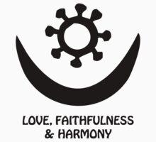 T-Shirt Adinkra Symbol: Harmony by Keith Richardson