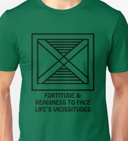 T-Shirt Adinkra Symbol: Fortitude Unisex T-Shirt