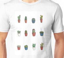 Small Cactus Pots Unisex T-Shirt