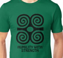 T-Shirt Adinkra Symbol: Humility with Strength Unisex T-Shirt