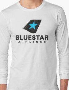 BlueStar Airlines (worn look) Long Sleeve T-Shirt