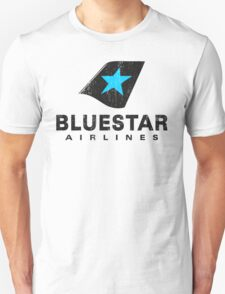 BlueStar Airlines (worn look) Unisex T-Shirt