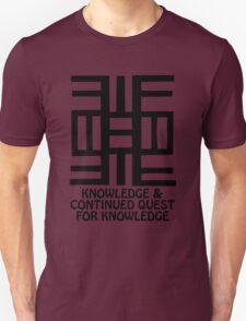 T-Shirt Adinkra Symbol: Quest for Knowledge T-Shirt
