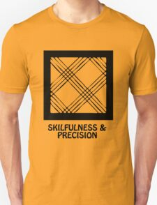 T-Shirt Adinkra Symbol: Precision T-Shirt