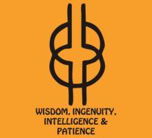 T-Shirt Adinkra Symbol: Wisdom by Keith Richardson
