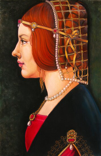 Leonardo's Beatrice by Tania  Donald