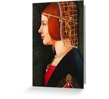 Leonardo's Beatrice Greeting Card