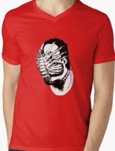 FACEHUG! Mens V-Neck T-Shirt