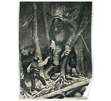 Theodor Kittelsen Illustration page32 Sagobok för barn Poster