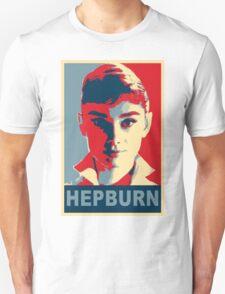 Audrey Hepburn Classic White Shirt Portrait Campaign  Unisex T-Shirt