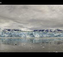 Hubbard Glacier by Michel Filion