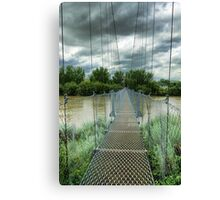 Suspension Bridge  Canvas Print