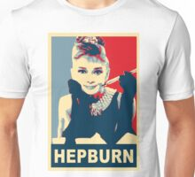Audrey Hepburn Breakfast at Tiffany's Campaign Design  Unisex T-Shirt